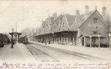 60 CPA Précurseur 1903 BEAUVAIS Train Et Gare - Beauvais