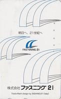 Télécarte Japon - SIGHINOLFI Ferrari /  Italy - Japan Phonecard Telefonkarte - Scheda Tel./ Italia - Publicité