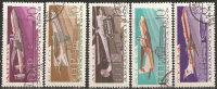 1965 Used - Yv.118/22  Mi.3168/72 - Usati