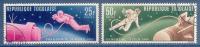Togo N°475-476 Sorties Dans L'espace Oblitérés - Togo (1960-...)