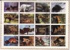 UMM AL QIWAIN  1972  Animaux  2 Blocs De 16 Différents Michel 1002-17, 1130-45  Oblitérés - Umm Al-Qaiwain