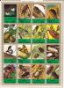 UMM AL QIWAIN  1972  Insectes  Série Complète Bloc De 16 Différents Michel 1338-53  Oblitérés  Beetles, Insects - Umm Al-Qiwain