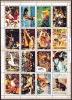 UMM AL QIWAIN  1972  Jeux Olympiques Munich Bloc De 16 Différents Michel  938-953   Oblitérés - Umm Al-Qiwain