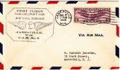 1930  Janesville WI  First Flight CAM 9  Sc C12 - Air Mail