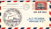 1932  CAM 9  First Flight Grand Forks ND  Sc C11 - Air Mail