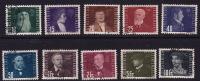 1948  Pionniers De L'air  Série Complète Oblitérée Mi Nr 257-266 - Poste Aérienne