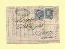 Nice - 87 - Alpes Maritimes - Gc 2656 - 25 Nov 1868 - Marcophilie (Lettres)