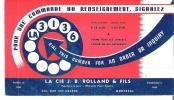 La Cie J. B. Rolland & Fils Montreal Papetiers En Gros - Wholesale Paper Dealers - Blotters