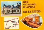 CP.  62.  PAS  EN  ARTOIS.   HOTEL  RESTAURANT  DE  LA  POSTE - France
