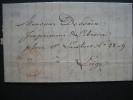 LAC De MALINES Datée Du 14 Août 1847 Vers LIEGE - 1830-1849 (Belgique Indépendante)