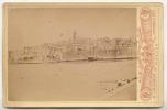 Photo Originale Grand Format VUE DE KORCULA  ( Croatia - Croatie ) A. JELLASCA Corte Ragusa 1880 - Anciennes (Av. 1900)