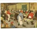 6191 Peeter Brueghel Noce Villageoise  Musée De Vienne Ed Nomis Neuve TBE - Paintings