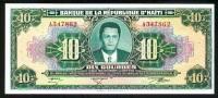 HAITI 10 GOURDES L. 1979 (1984) PICK # 242 - Haiti