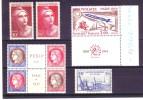 Lot De Timbres France   XX  N° 348 A 51/426/732/733/1422   Cote  Plus Ou Moins  435 Euros - Collezioni