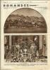 Eglise De Bulle, Maître-autel Décoré Pour La Messe Des Armaillis, Page Originale De L´Echo Illustré Nos 15 - Documents Historiques