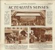Fêtes Des Musiques Fribourgeoises, Bulle, Page Originale De L´Echo Illustré No/1930 - Documents Historiques