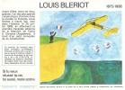 """Buvard """" SANTE  SOBRIETE """" Si Tu Veux Réussir Ta Vie, Toi Aussi, Reste Sobre .Destins  Exemplaires LOUIS  BLERIOT - Buvards, Protège-cahiers Illustrés"""