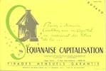 Buvard  01/1954  -  SEQUANAISE  CAPITALISATION -  Constituez Vous Un Capital En Souscrivant Des Titres - Buvards, Protège-cahiers Illustrés