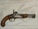 PISTOLET REGLEMENTAIRE FRANCAIS MODELE 1822 T BIS - Armes Neutralisées