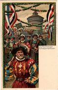 BAVIERE Entier Postal Illustré Fête Des Gymnastes 1903 Thèmes Costumes , Tir à L'arbalète, Gymnastique - Bavière
