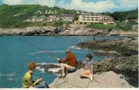 1972 Great Britain Colour Picture Postcard Of  Limeslade Bay, Good Franking - Unknown County