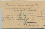 1910 CALABRIA TELEGRAMMA CORIGLIANO 13.10.10 CERCHIO LINEARE E OVALE TELEGRAFO BLU TESTO LAV...VEDI DESCRIZIONE (DC3944) - Storia Postale