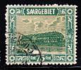 Saar Used Scott #111 75c Pottery At Mettlach - 1920-35 Société Des Nations