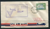 Bermuda 1941 Cover To USA First Day Special Cancel Single Usage - Bermuda