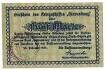 1919 // Hindenburg // FUNF MARK - To Identify