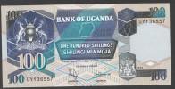 UGANDA : 100 Shilling - 1994 - P31c - FDS - Uganda