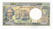 Polynésie Française / Tahiti - 5000 F CFP - Alphabet T.012 / 2010 / Signatures Severino/Redouin/Cornaill E - Neuf / UNC - Papeete (Polynésie Française 1914-1985)