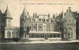 CORBEIL - Le Château Des Tourelles, Vue Sur Le Parc - 2 Scans - Corbeil Essonnes