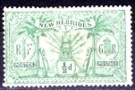New Hebrides British 1911 1/2 D MH - Lot. 884 - Nieuwe-Hebriden