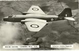 "ENGLISH ELECTRIC  ""Camberra MK-2 ""  ( G.B. )  Carte Photo  9x14. - 1946-....: Moderne"