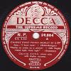 78 Tours - DECCA  59.004 - Charlie KUNZ Piano Solo - PIANO MEYDLEY N° D 27 - 78 T - Disques Pour Gramophone