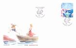 ALAND FDC Europa-CEPT 2004 Cote Michel 2,50€ - Aland