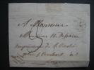LAC De WELLIN Datée Du 7 Août 1847 Vers LIEGE - Type 18 (Herlant) - Signé BRIALMONT Curé-doyen De Wellin - 1830-1849 (Belgique Indépendante)