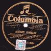 78 Tours - Columbia D 19004 - ORCHESTRE MILITAIRE - RETRAITE FRANCAISE - REVEIL DE LA GARDE REPUBLICAINE - 78 T - Disques Pour Gramophone