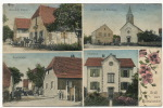 Gruss Aus Geiswasser Pfarrhaus, Wirtschaft Werner, Schulhaus  Timbrée Heteren - Other Municipalities
