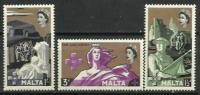 MALTA   STAMPS  **  1959    265/267 - Malta (Orden Von)