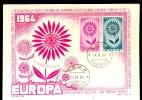 ITALY * MAXI CARD * 1964 * EUROPA CEPT - Cartes-Maximum (CM)