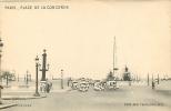 PARIS - Place De La CONCORDE - Carte à Systèmes - Vue Par Transparence Des Monuments En Couleur - TBE - 2 Scans - A Systèmes