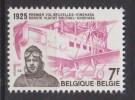 Belgique N° 1782 *** Cinquantenaire De La 1ère Liaison Aérienne Bruxelles-Kinshasa Par Edmond Thieffry - 1975 - Unused Stamps