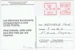 E.M.D. CAMP 1980 Essai D´une Machine De Distributeur De La Poste Au SICOB 1980 - Documents De La Poste