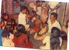 AMAZONAS  INDIOS TICENEOS  CEREMONIA DE LA PELAZON  COLOMBIA   OHL - Colombie