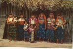 GRUPO DE INDIAS Y NIÑOS DE LAS ISLAS SAN BLAS  PANAMA - Panama