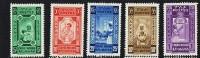 1936  Croix-Rouge  Série Sans Surcharge  Non émise * * Sans Charnière - Ethiopie