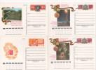 RUSSIE - RUSSIA - Entiers Postaux - Entier Postal - LOT 11 Cartes - Victoire 2ème Guerre Mondiale (30 Ans) - 1992-.... Federazione