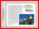 """FRANCE 2003 : CEF 1° Jour N° 1646 """"  NANTES """" N° YT 3552.  Parfait état + Prix Dégress - Tramways"""