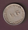 CURACAO 1/4 GULDEN 1947  ARGENT SILVER - Curaçao